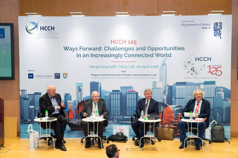 Conferencia HCCH 125 – Ways Forward Challenges and Opportunities in an Increasingly Connected World, Hong Kong