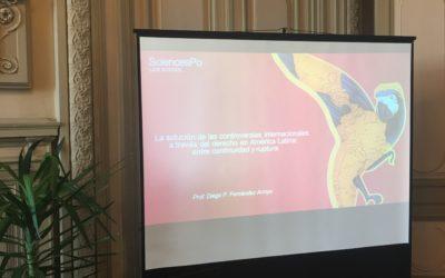 Conferencia Inaugural – La solución de las controversias internationales a través del derecho en América Latina: entre continuidad y ruptura (Sciences Po, Campus de Poitiers)