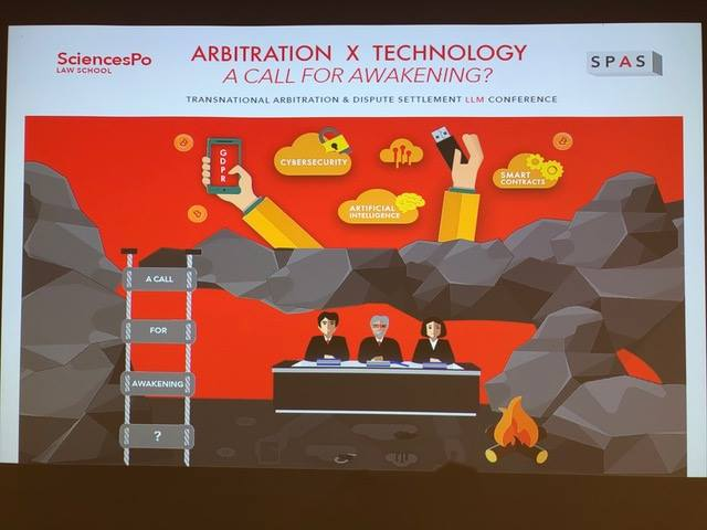 TADS LLM 2018 Conferencia – Arbitration X Technology