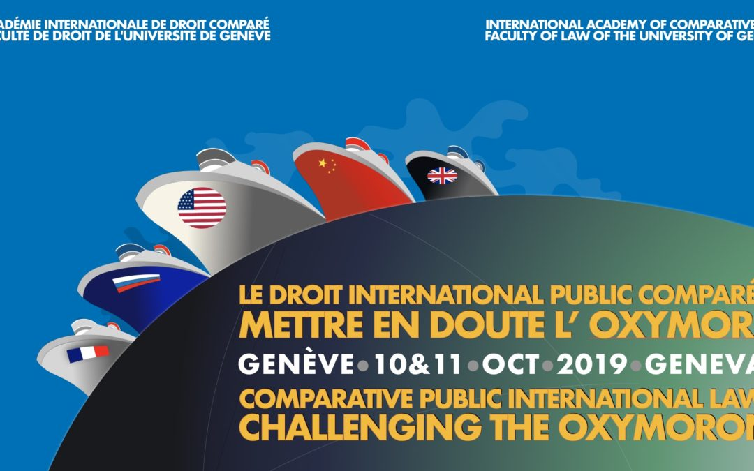 Comparative Public International Law: Challenging the Oxymoron, Geneva