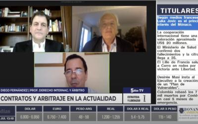 Contratos y Arbitraje en la actualidad – 5 días TV (Paraguay)