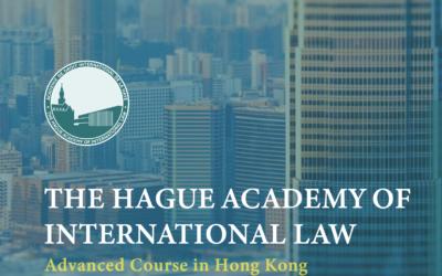 Primera edición de los cursos avanzados ADIH en Hong Kong – 7-11 de diciembre de 2020