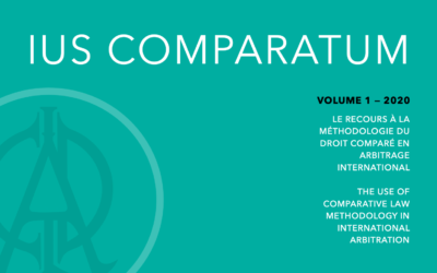 Launch of Ius Comparatum Volume 1 — The use of comparative law methodology in international arbitration