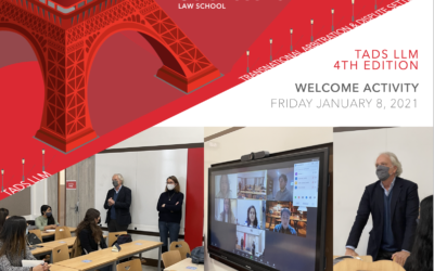 Lanzamiento de la 4a edición de TADS LLM en Sciences Po Law School