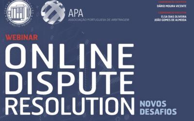 """Webinar """"Online Dispute Resolution – Novos Desafios"""", 29/6/21"""