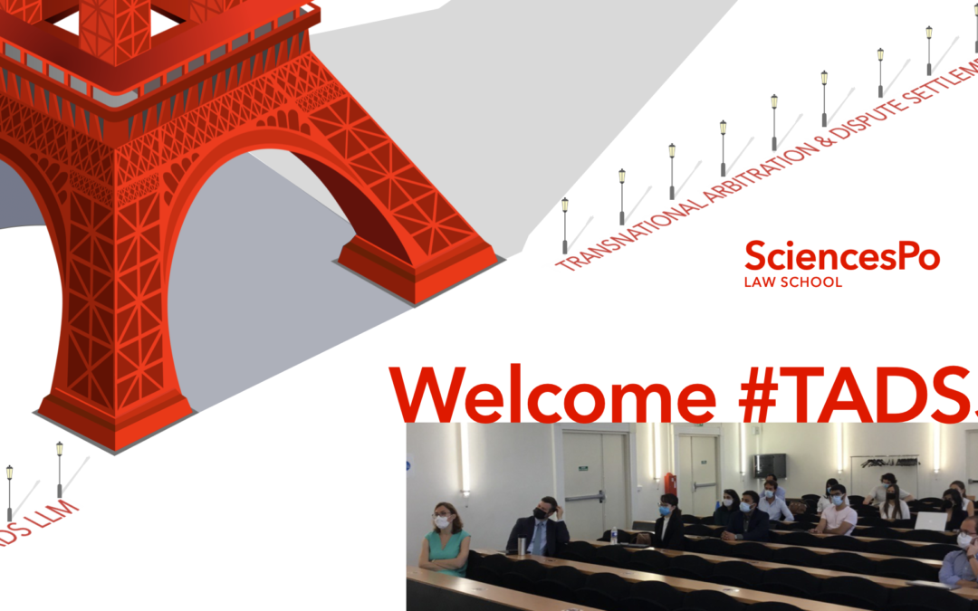 Launch of the 5th edition of TADS LLM at Sciences Po Law School